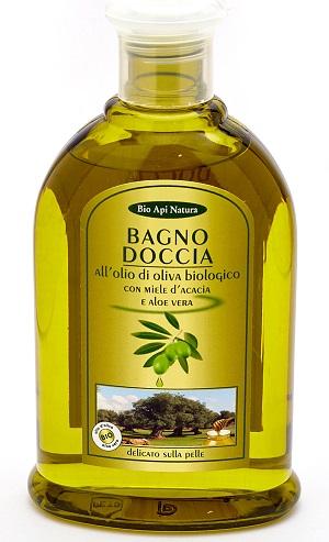 Гель для душа мед и оливковое масло