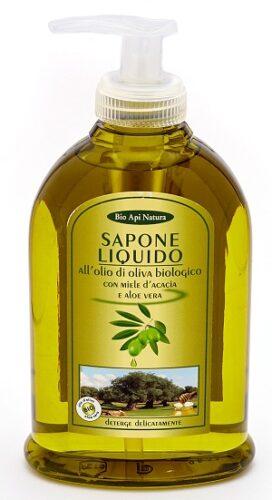 Жидкое мыло мед и оливковое масло