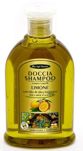 Гель - шампунь мед, лимон и оливковое масло
