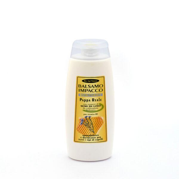 Маска – бальзам маточное молочко и семена льна