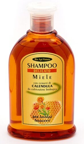 шампунь мёд и календула