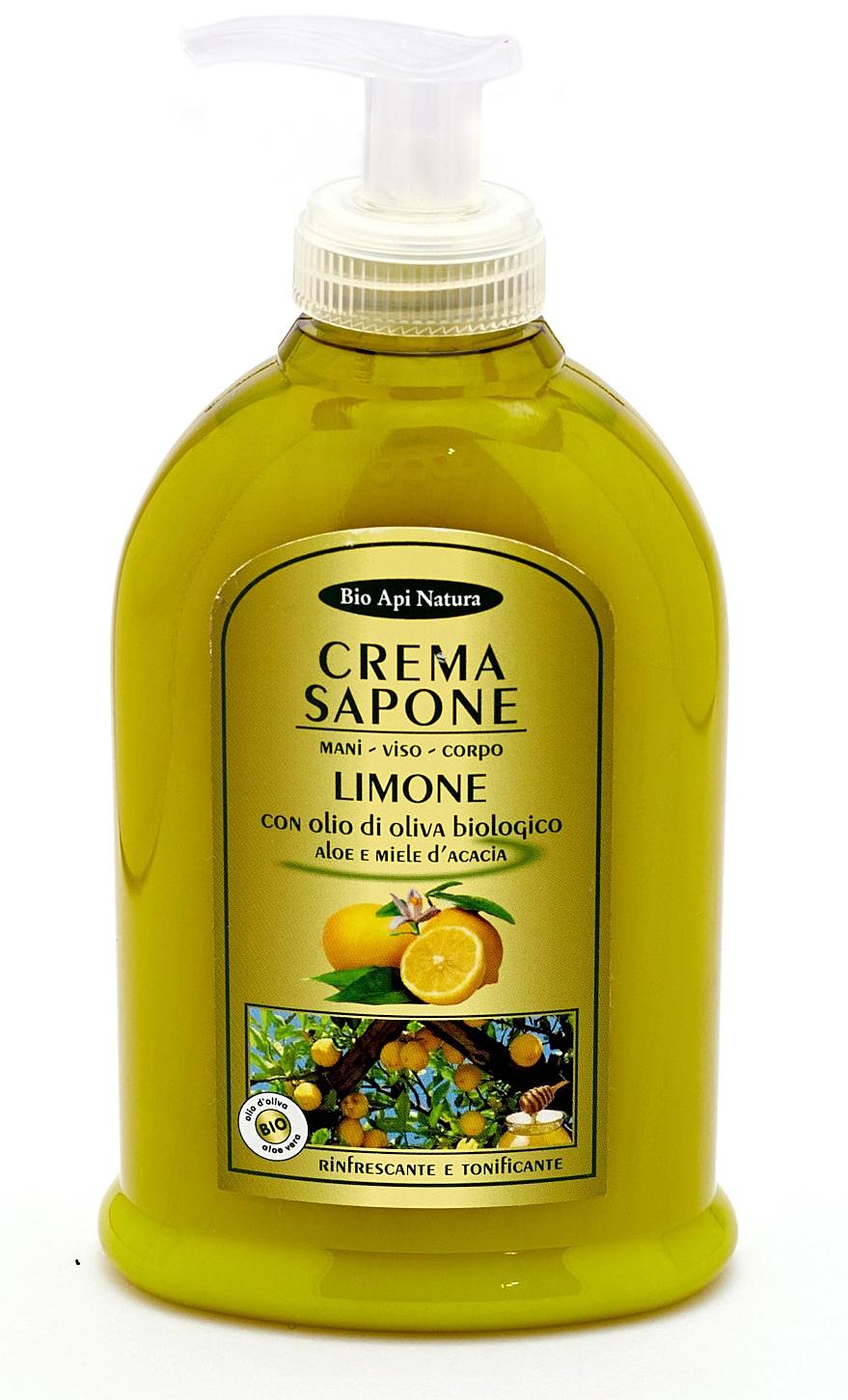 Жидкое крем - мыло мёд